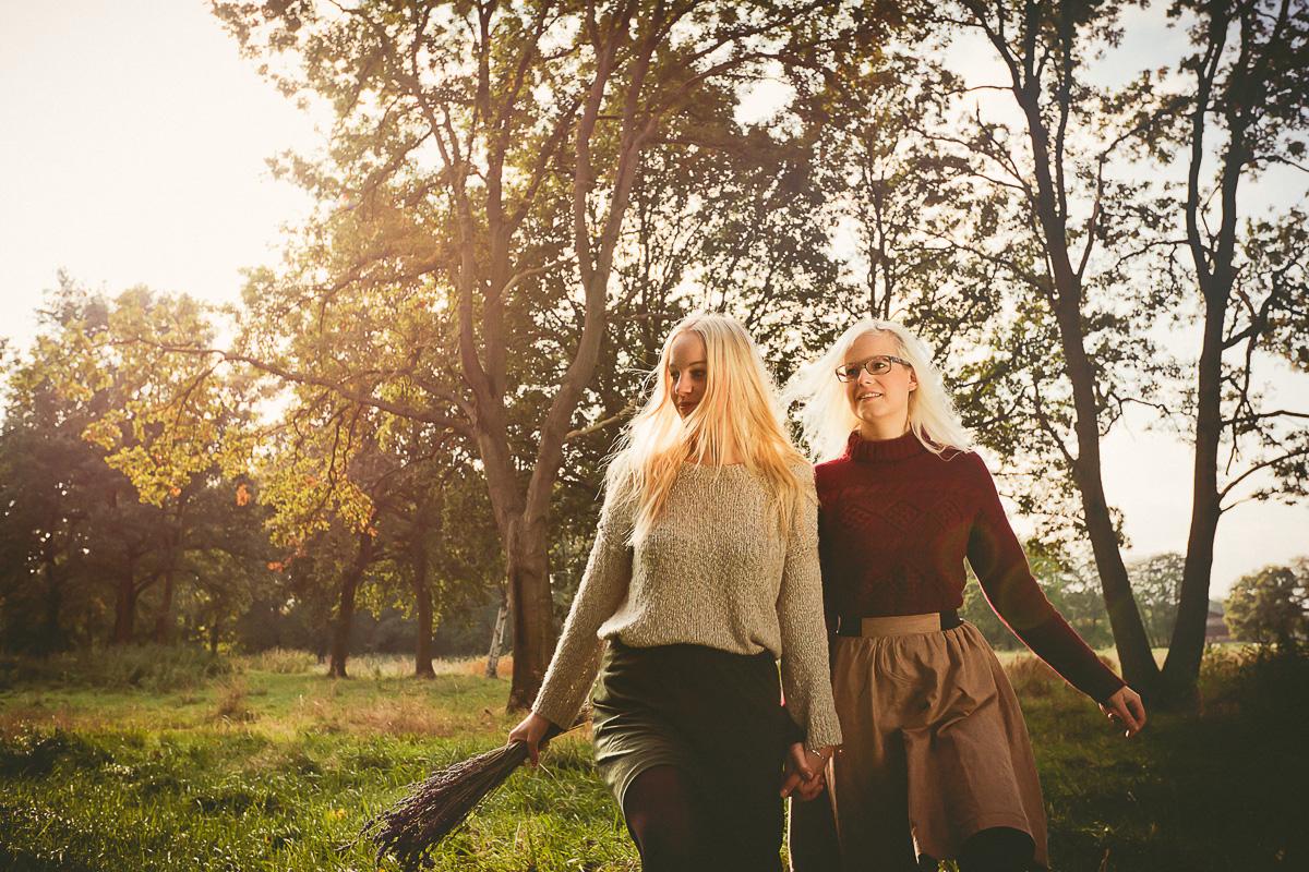 Freundinnen-Herbst-Shooting in Bremen