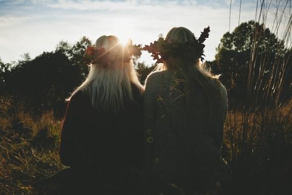Herbstshooting Sarah & Feline