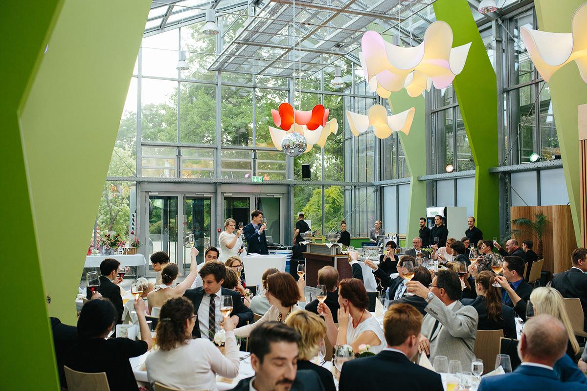Hochzeitsfeier in der Botanika