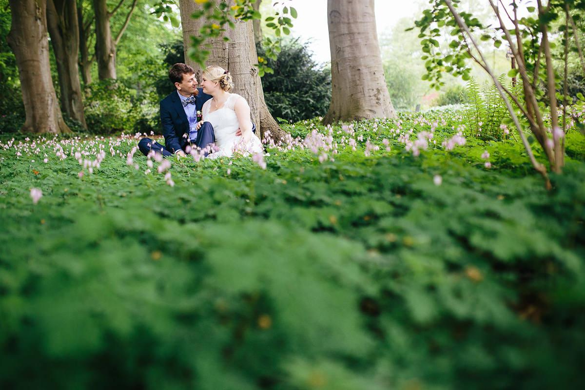 Hochzeit Fotos Rhododendron Park Bremen