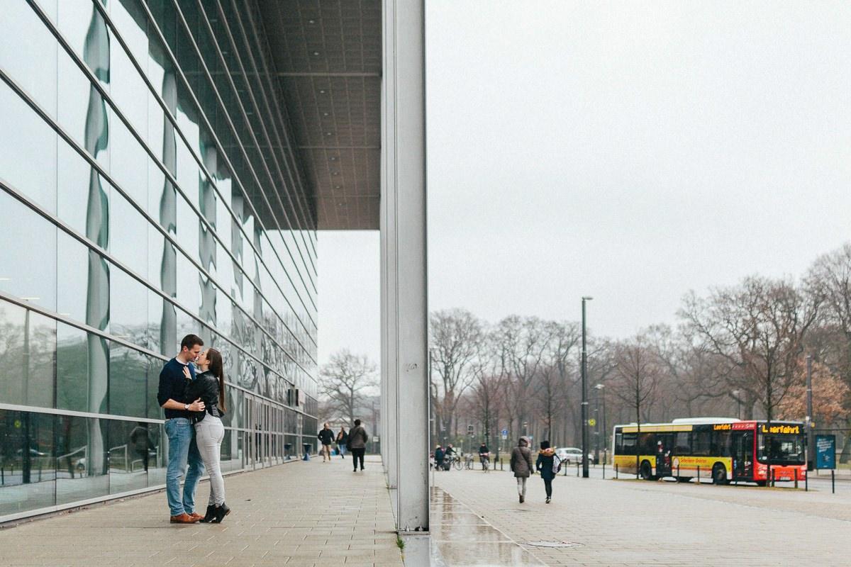 Pärchenshooting an der ÖVB-Arena Bremen