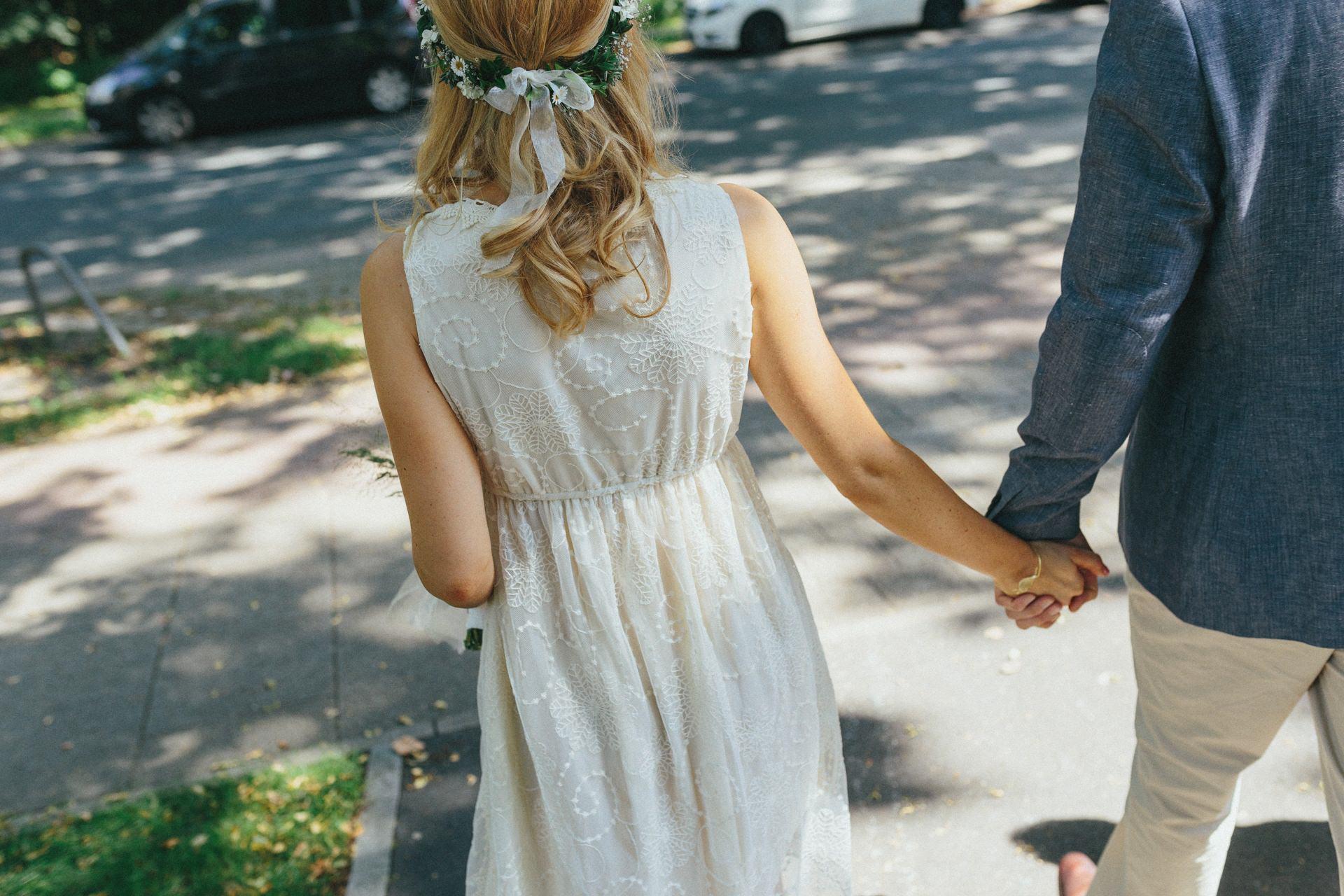 Hochzeitsfotos im Bürgerpark