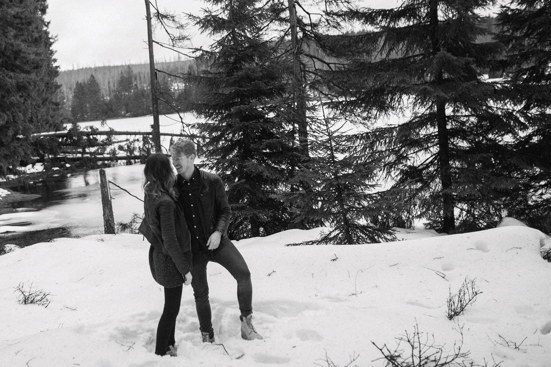 Paar-Fotos im Harz