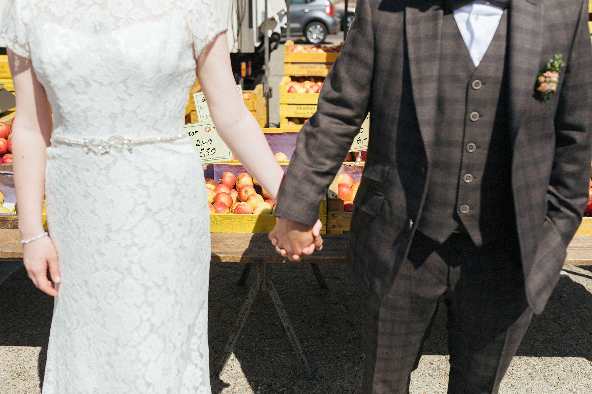 Hochzeitsfotos Marktplatz Oldenburg