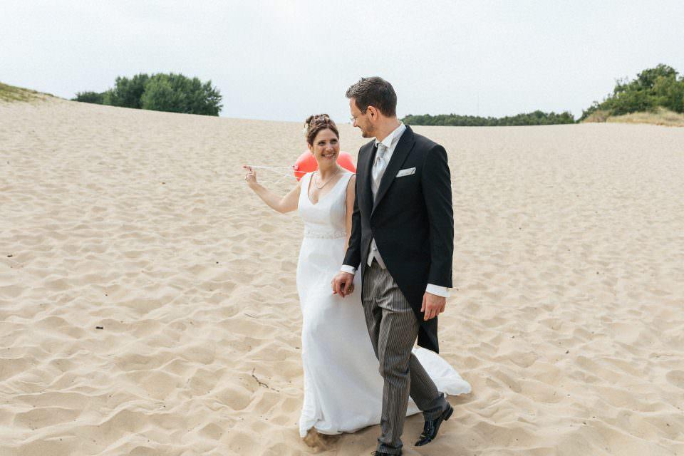 Hochzeitsfotos in den Boberger Dünen