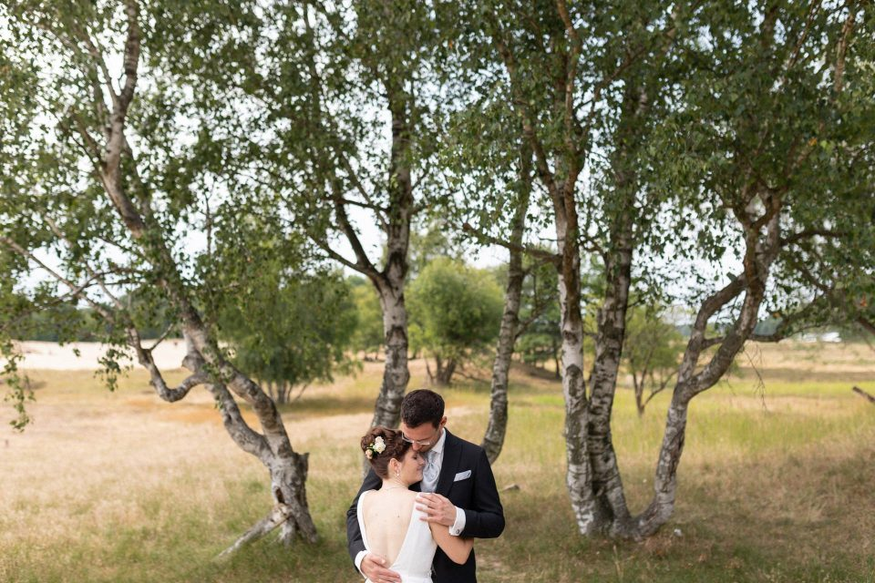 natürliche Hochzeitsfotos in den Boberger Dünen