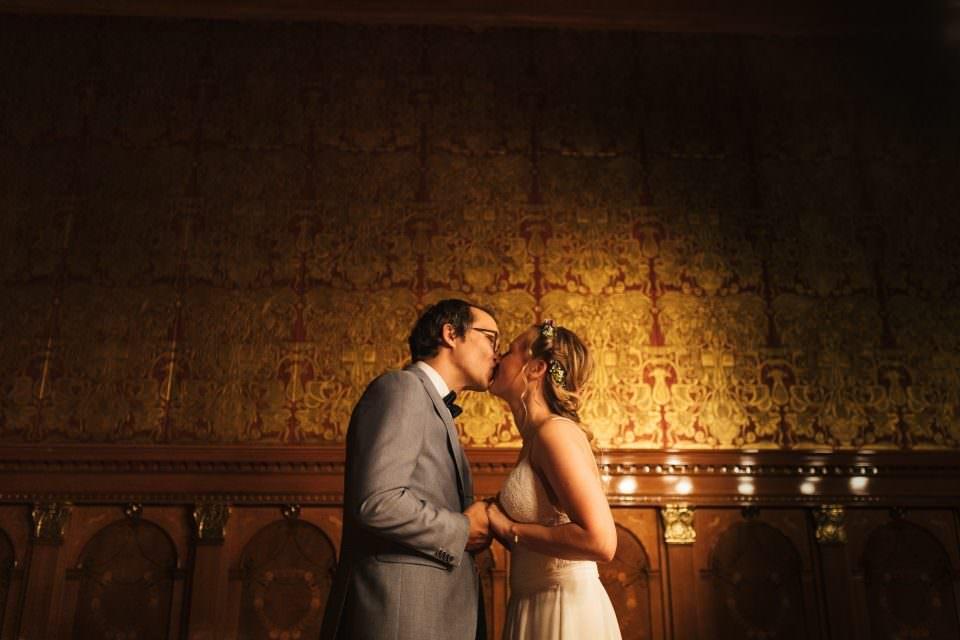 Hochzeitsfotos in der Güldenkammer des Bremer Rathauses