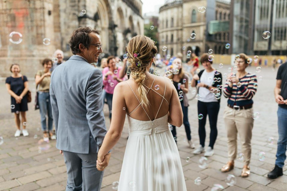 Hochzeit Marktplatz Bremen