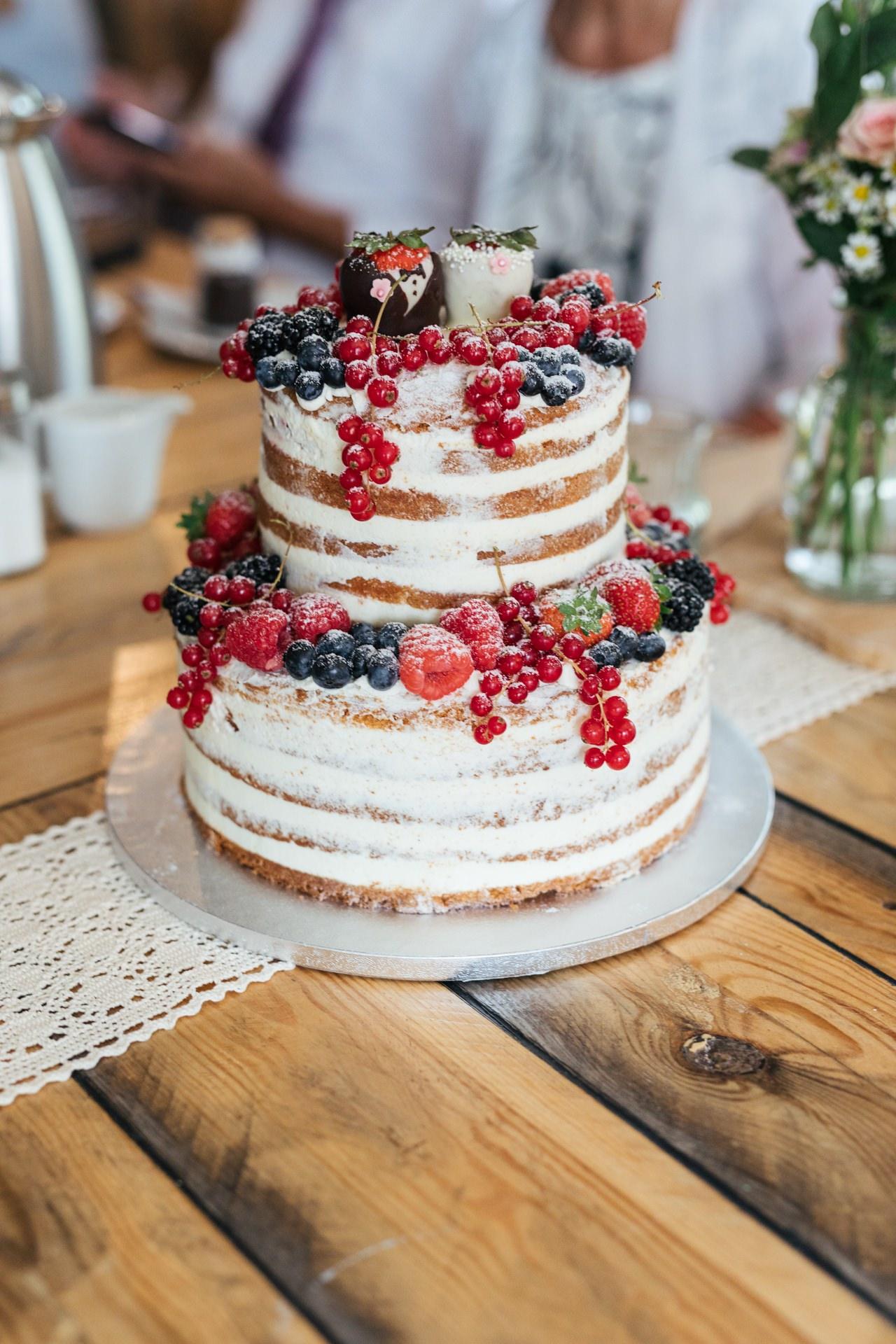 Naked Cake Hochzeitstorte Wohnküche Bremen Oberneuland